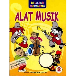 Mewarnai Seri Alat Musik 2