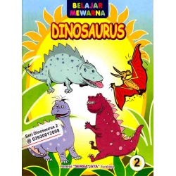 Mewarnai Seri Dinosaurus 2