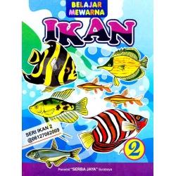 Mewarnai Seri Ikan 2