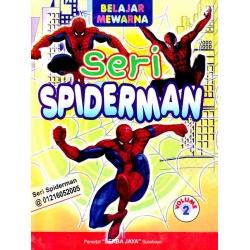 Mewarnai Seri Spiderman 2