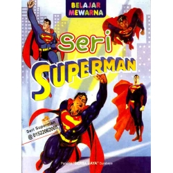 Mewarnai Seri Superman 1