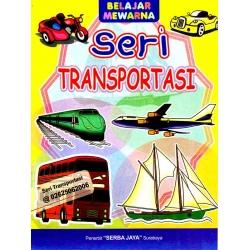Mewarnai Seri Transportasi 1